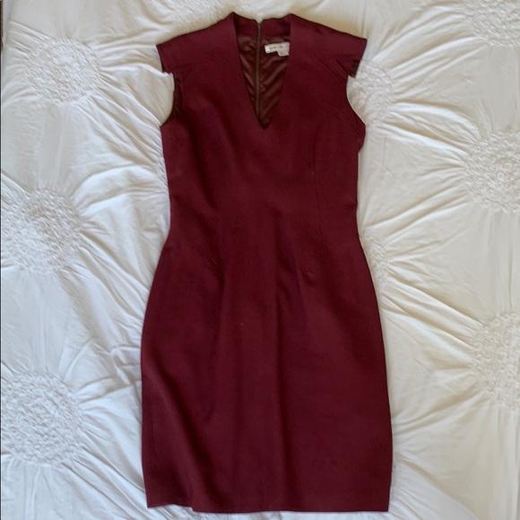 Helmut Lang Dresses & Skirts - Helmut Lang For Intermix Burgundy Dress